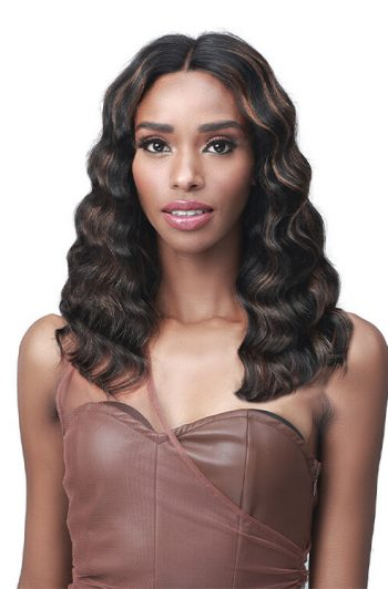 Bobbi Boss MHLF563 Neona 100% Unprocessed Human Hair Lace Front Wig Front