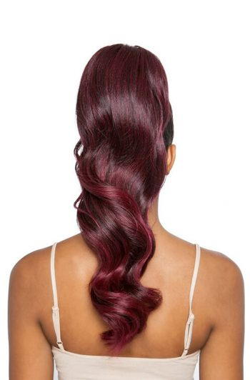"""Mane Concept Glamour Wave WNT 20"""" Wrap and Tie Ponytail BSWNT03 Rear"""