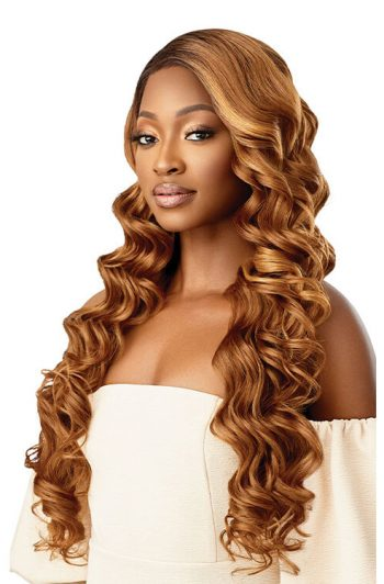Outre Melted Hairline Chandell HD Transparent Lace Front Wig DRFF4/Hazelnut Honey