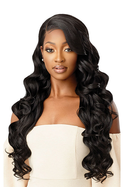 Outre Melted Hairline Chandell HD Transparent Lace Front Wig Front