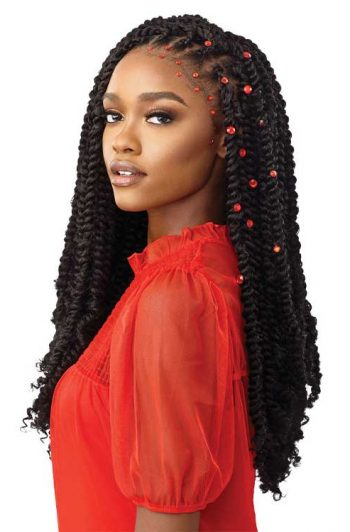 Outre X-Pression Water Wave Fro Model Twists Gemstones