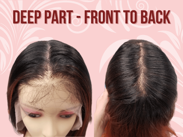 Deep Lace Part Front to back