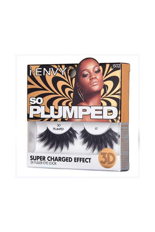 Kiss i Envy So Plumped Lash Collection IS02 Packaging Side